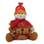 Снеговик в красном, 1000г